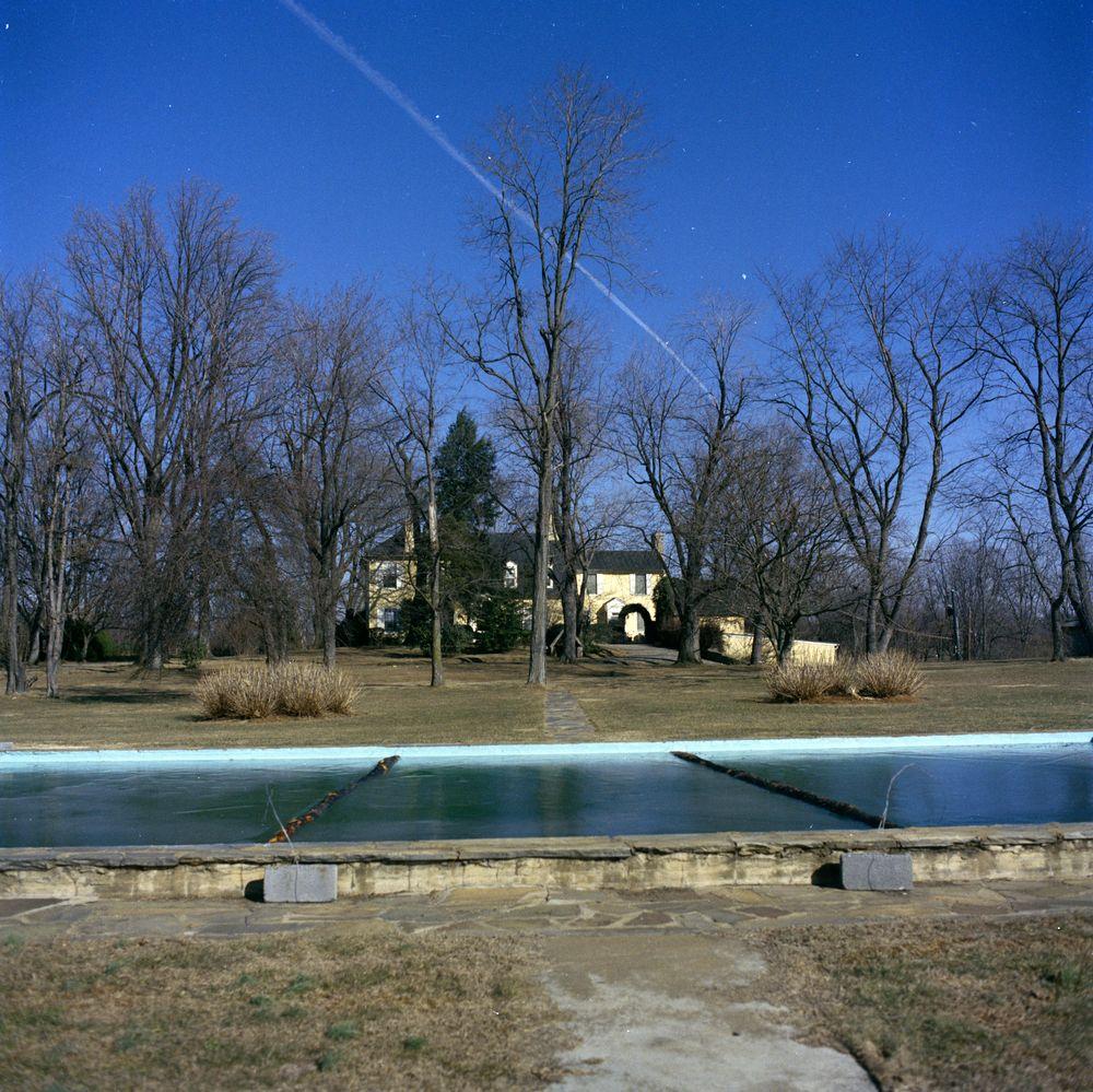 ST-A14-1-62. Glen Ora Estate in Middleburg, Virginia - John F. Kennedy ...