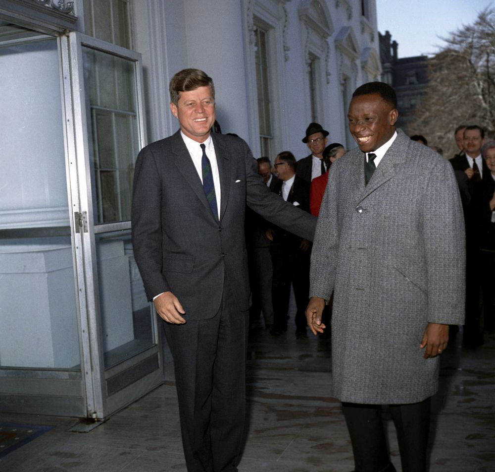 president john f kennedy John f kennedy, the 35th us president, negotiated the nuclear test-ban  treaty and initiated the alliance for progress learn more about.