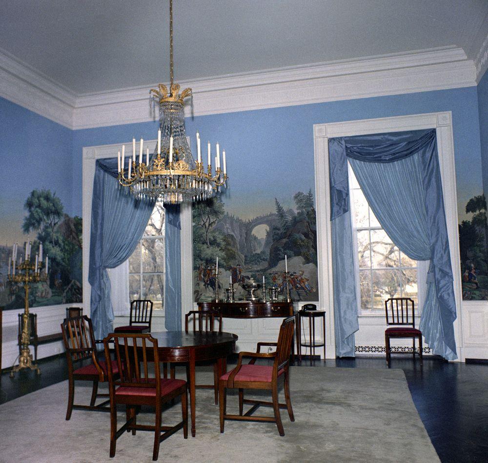 KN-C20017. President's Dining Room, White House