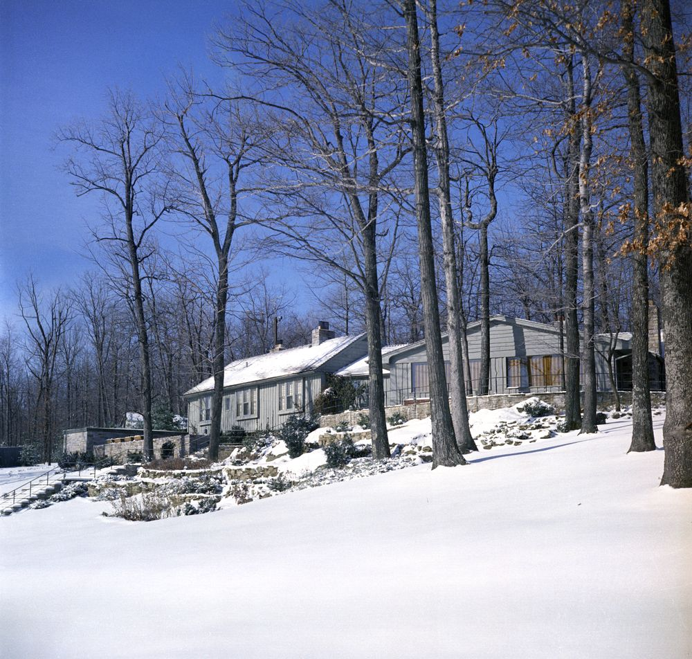 Kn C20062 Aspen Lodge Camp David John F Kennedy