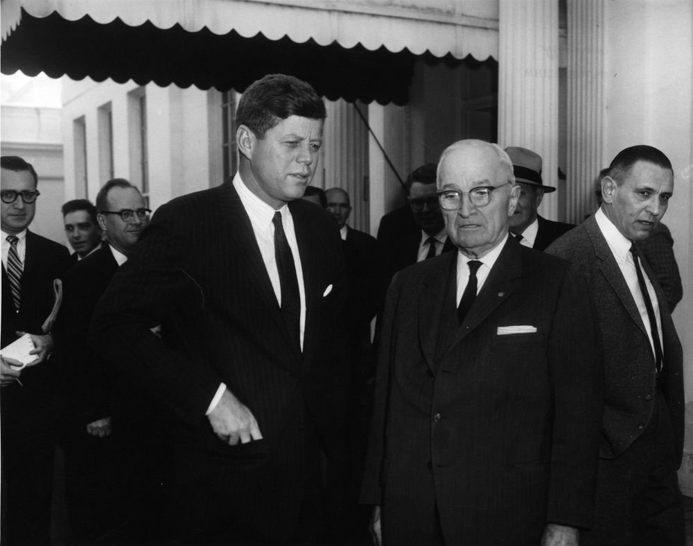 how did truman mccarthy and kennedy A presidential aide sought to restore cordiality between two presidents by senator joseph mccarthy and john f kennedy's funeral in 1963 truman had.