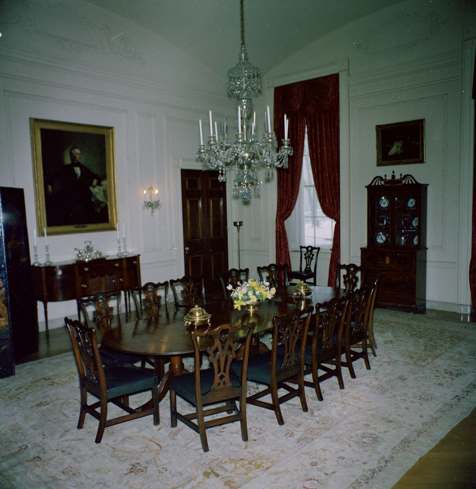Dining Room Home: White House Rooms: Family Dining Room