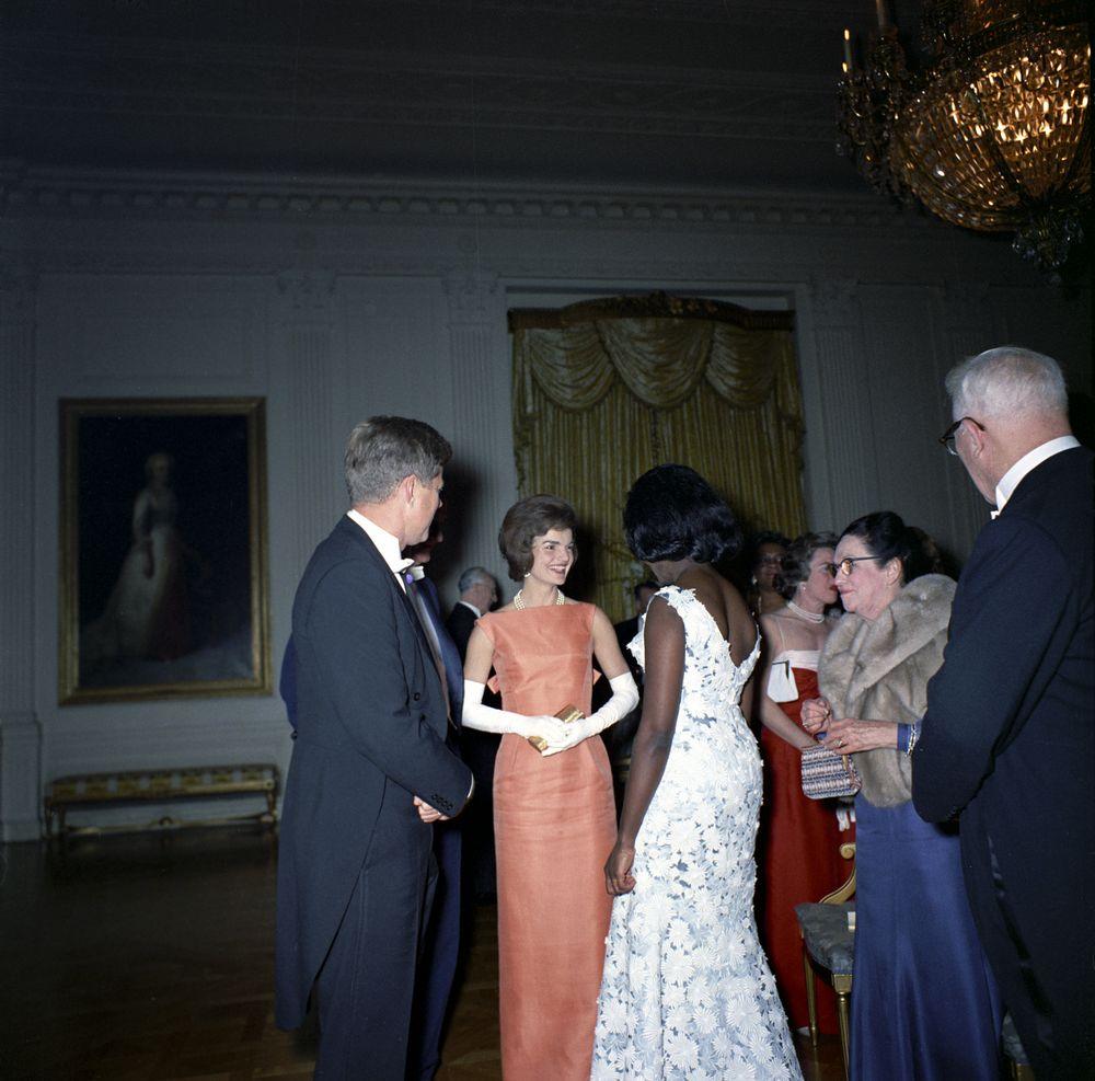 ... at White House Dinner - John F. Kennedy Presidential Library & Museum