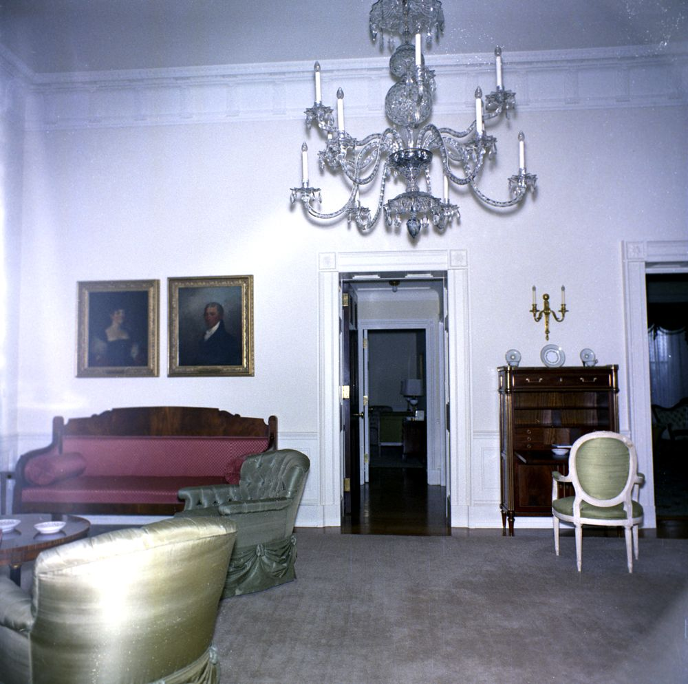 Rooms: White House Rooms: East Sitting Room