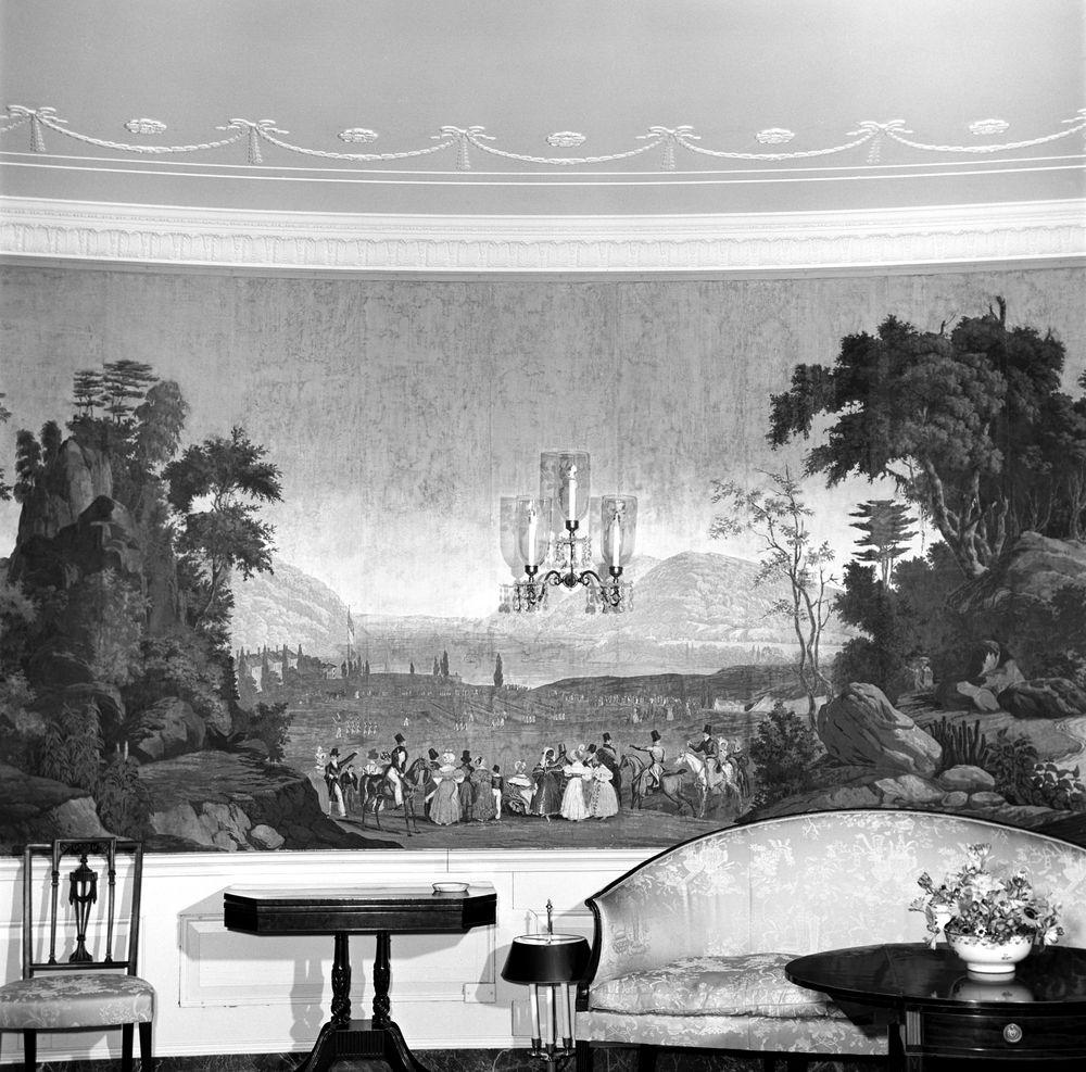 ... Zuber Wallpaper White House ...