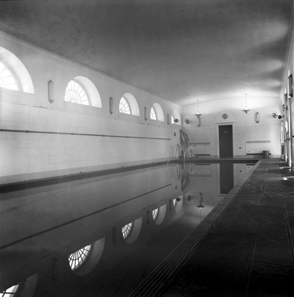 White House Rooms: Swimming pool - John F. Kennedy Presidential ...