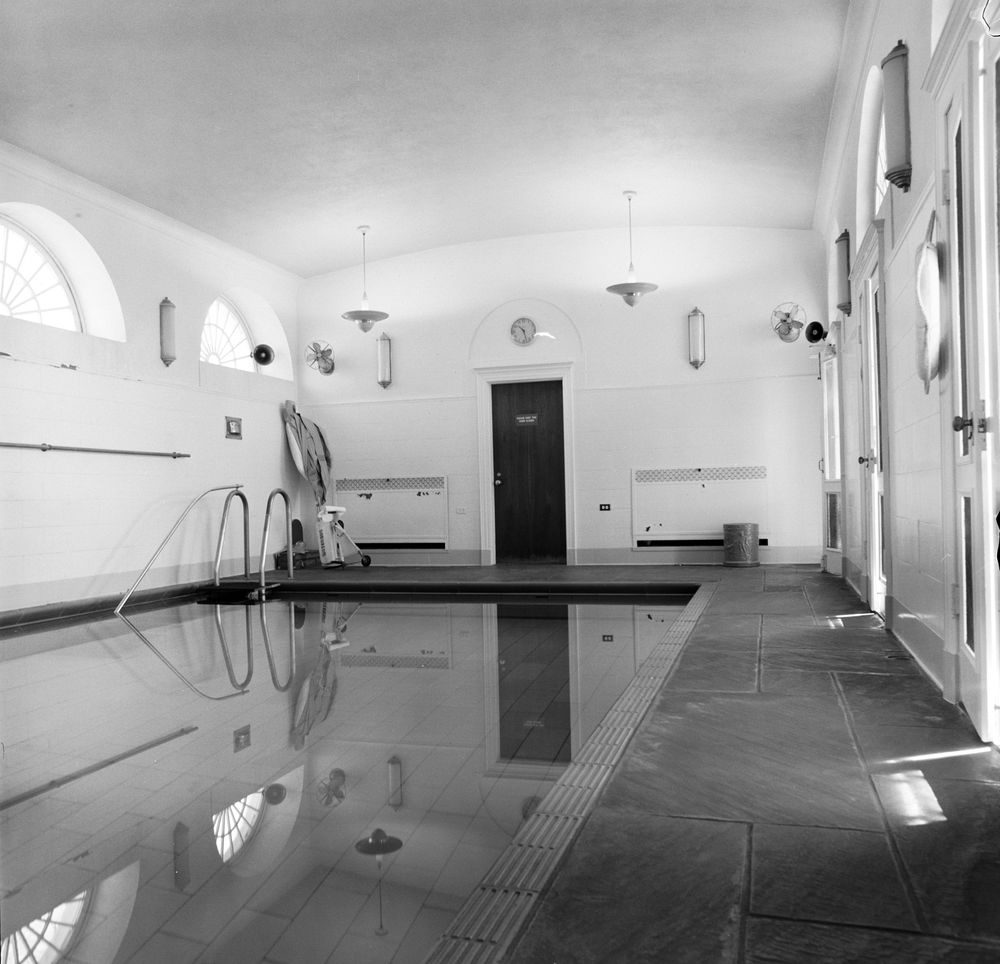 Kn 20308 White House Swimming Pool John F Kennedy Presidential Library Museum