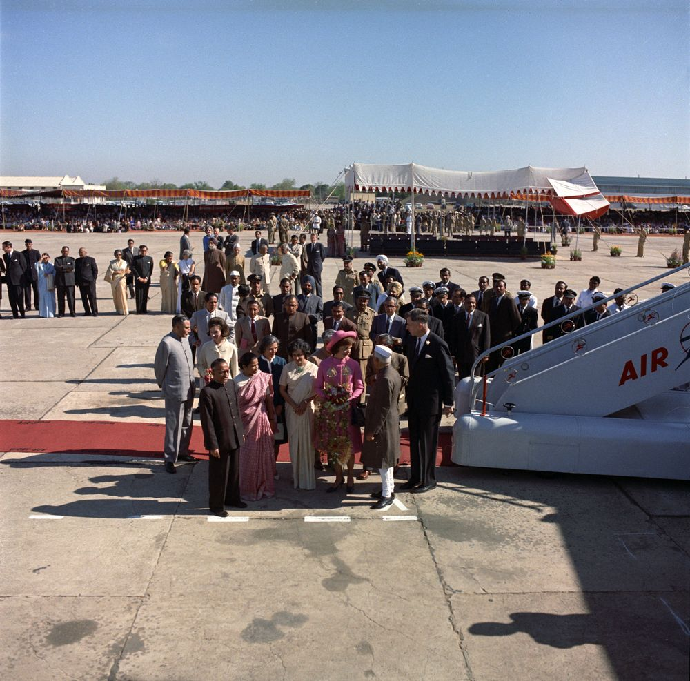 first lady jacqueline kennedy u2019s  jbk  trip to india and