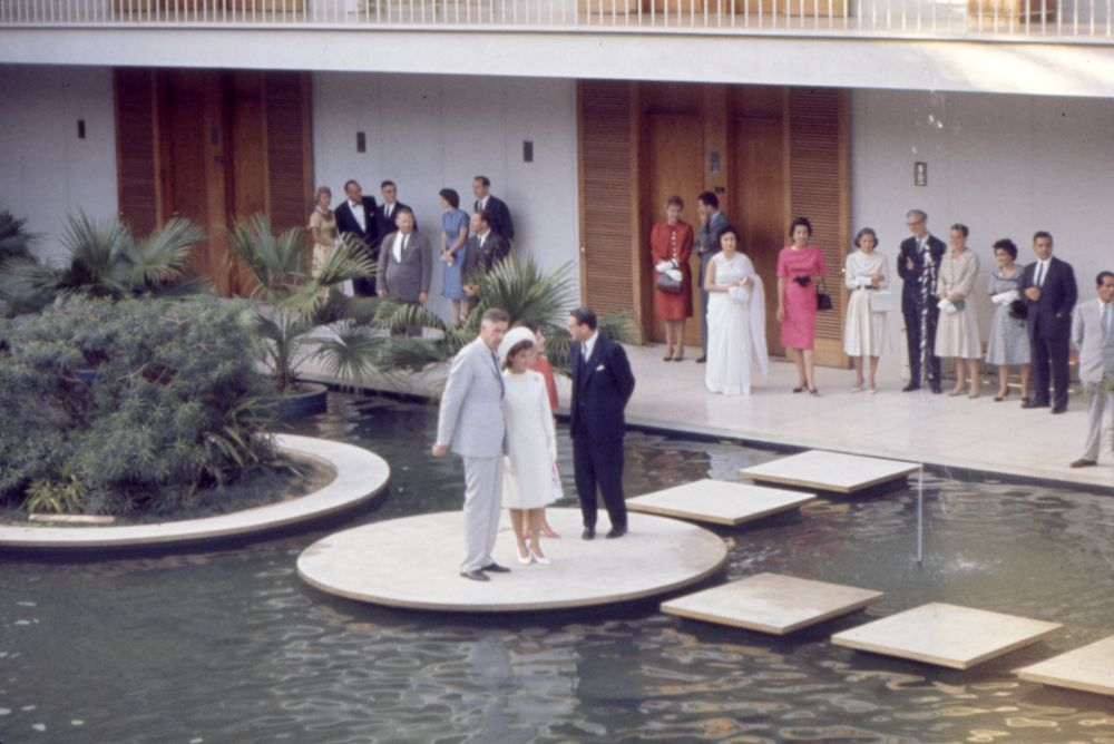 First Lady Jacqueline Kennedy's (JBK) trip to India and