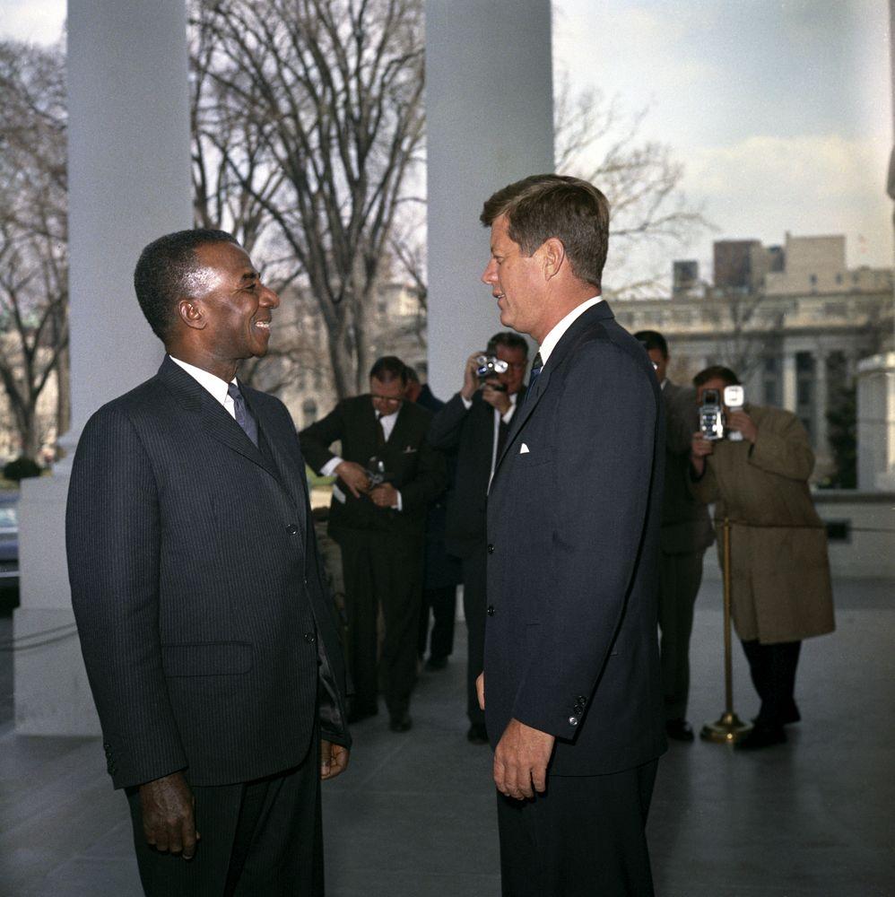 """Résultat de recherche d'images pour """"president of togo and kennedy"""""""