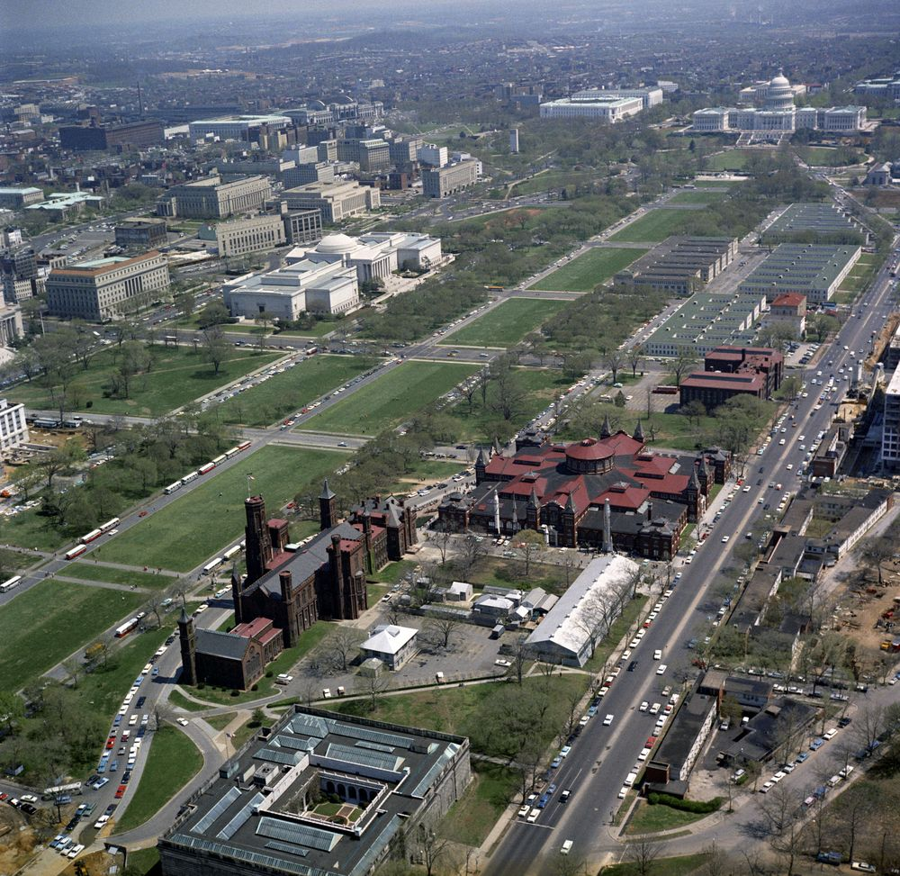 Kn C21108 Aerial View Of National Mall In Washington D C