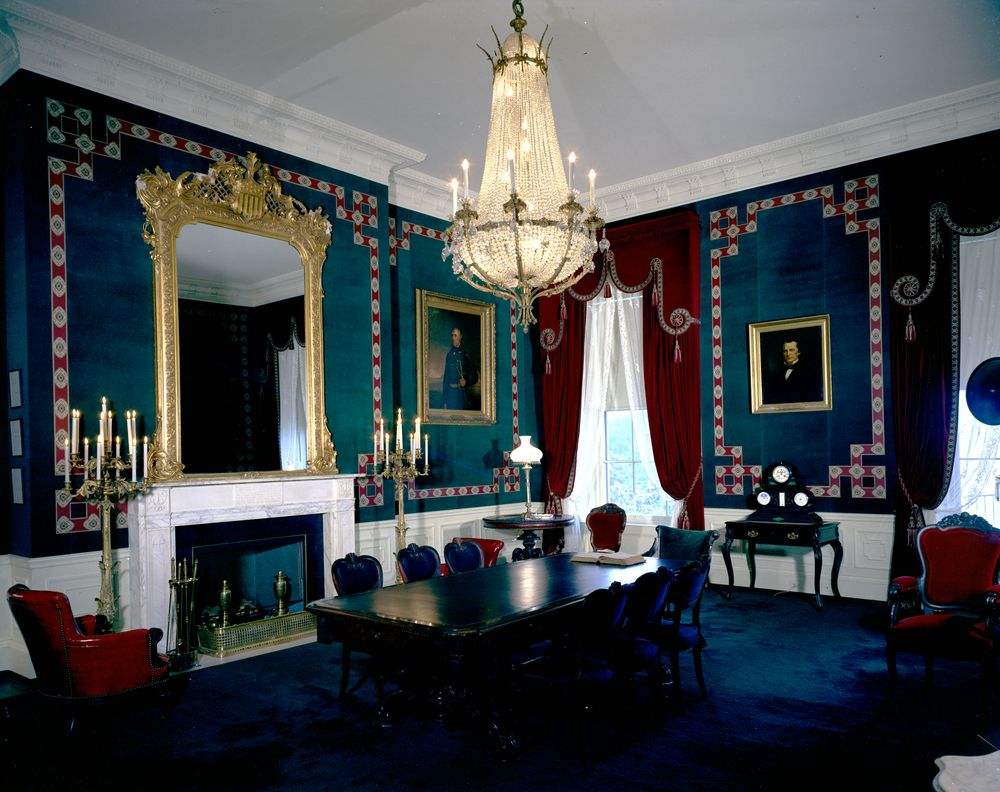 white house rooms  red room  president u2019s bedroom  sitting