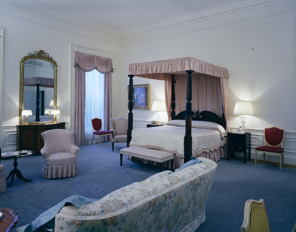 White House Rooms: Red Room, President's Bedroom, Sitting