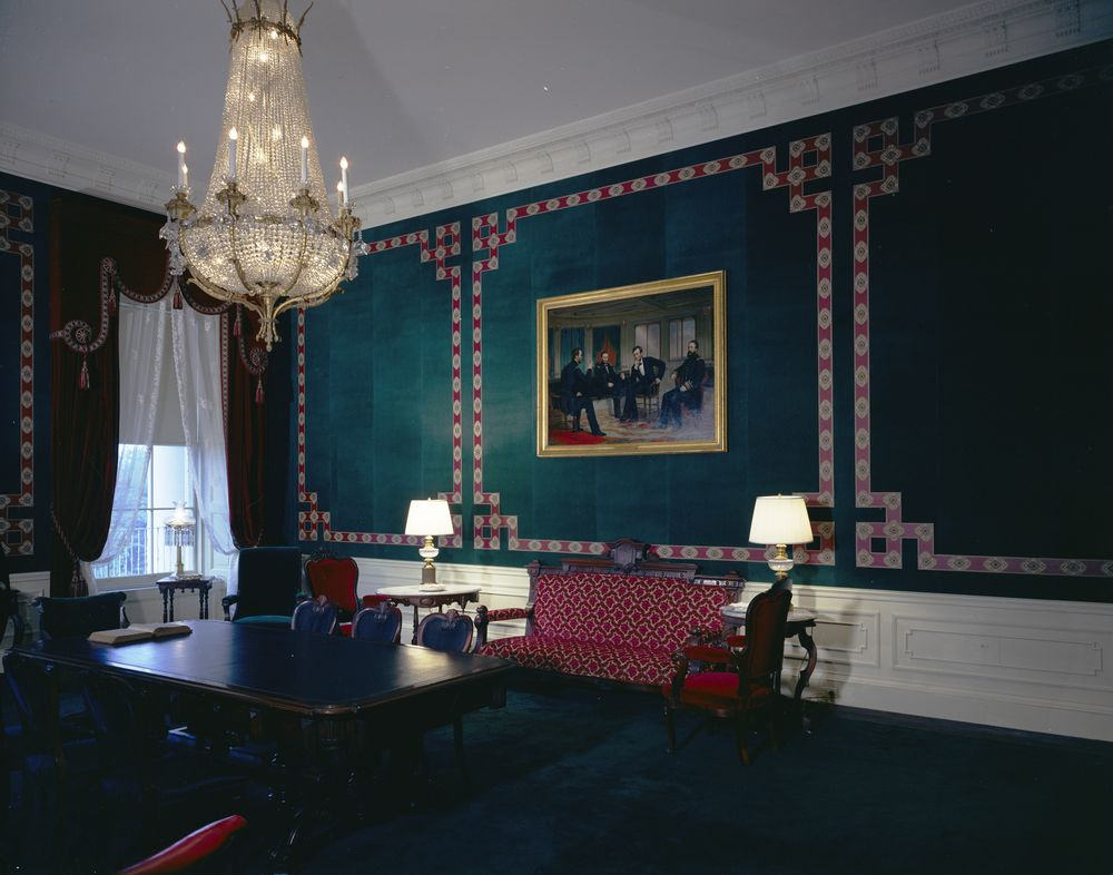 Room White House West Sitting Hall