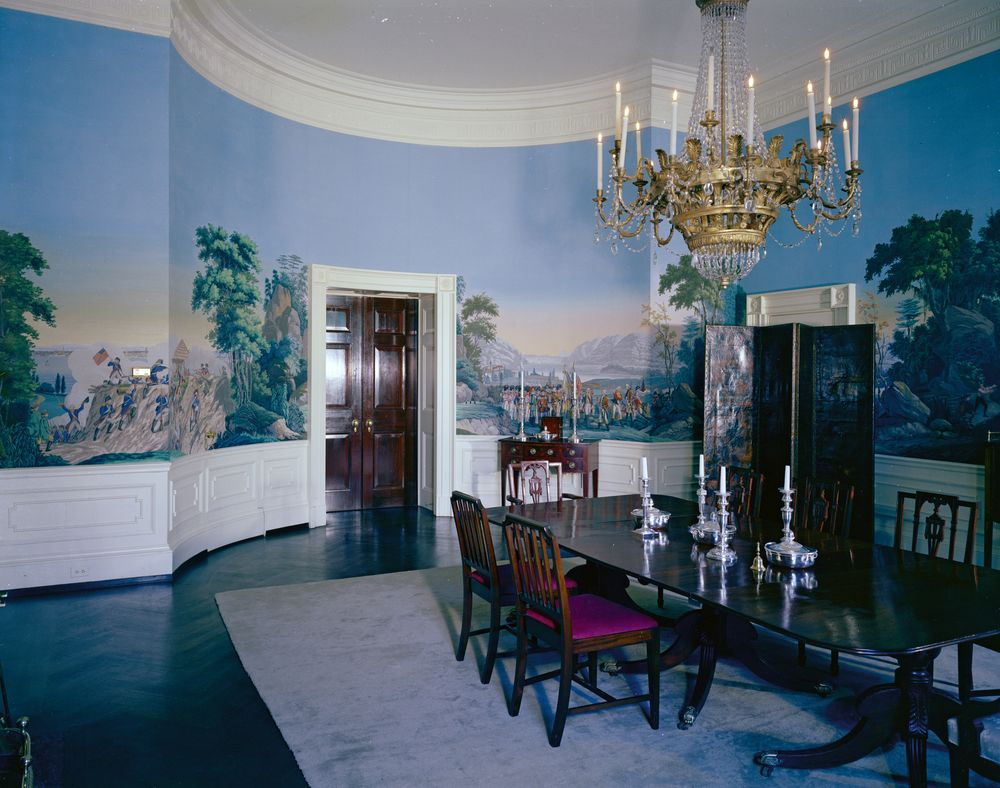 Rooms: White House Rooms: Red Room, President's Bedroom, Sitting