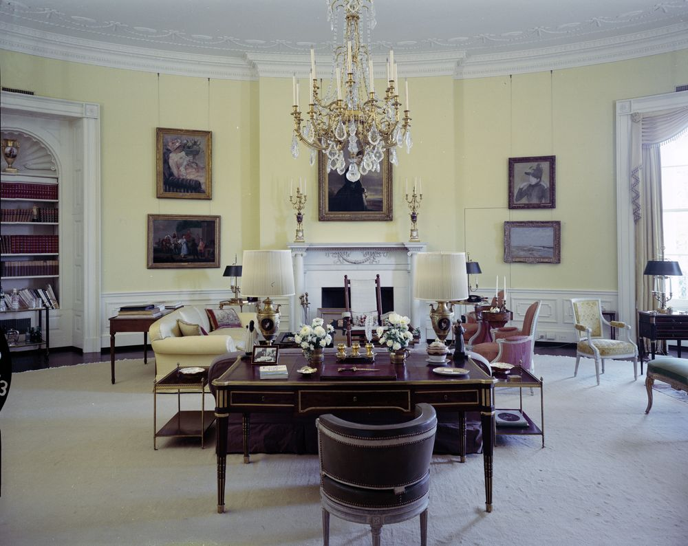 Treaty Room White House Bush