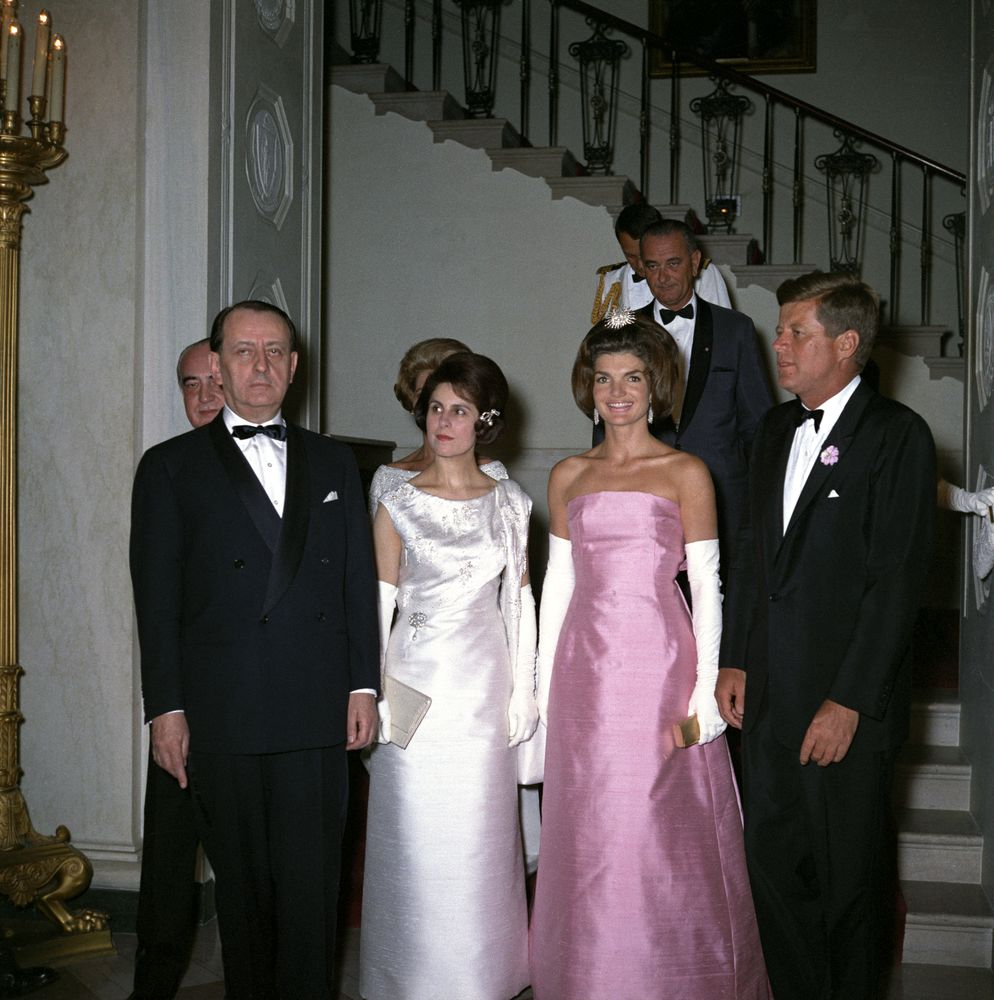 KN-C21655. President John F. Kennedy Attends Dinner for Minister of ...