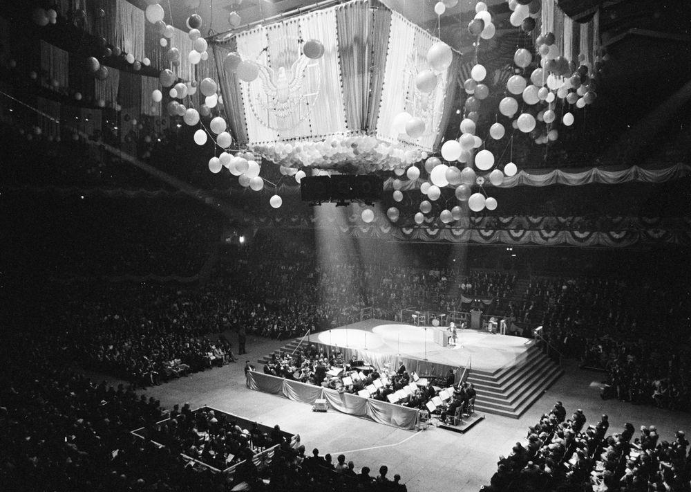 birthday salute to president john f kennedy at madison square garden - Madison Square Garden Internship