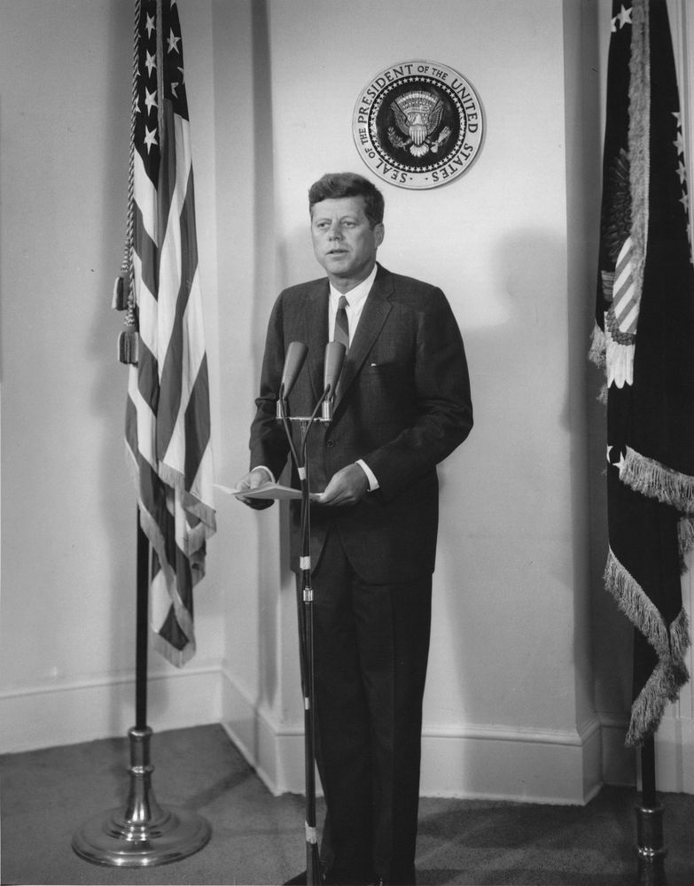 an analysis of john fitzgerald kennedy as the 35th president of the united states The kennedy doctrine refers to foreign policy initiatives of the 35th president of the united states, john fitzgerald kennedy, towards latin america during his term in office between 1961 and 1963.