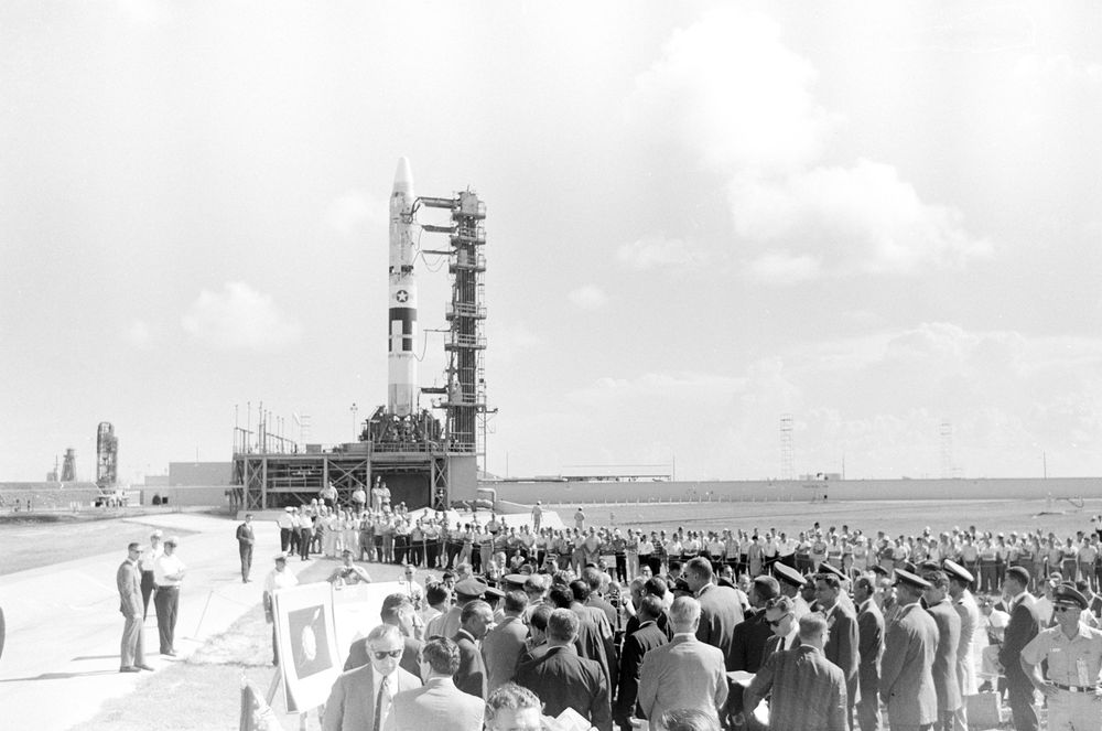 KN President John F Kennedy Tours Titan Launch Complex At - Cape canaveral tours