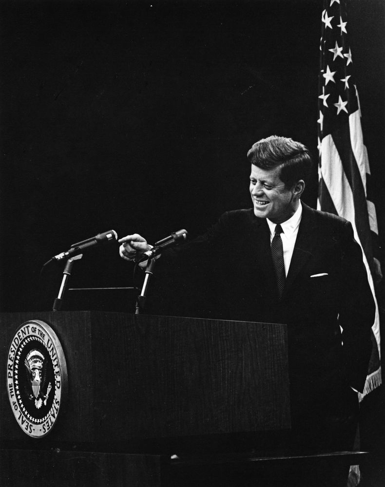 John Kennedy Speaks