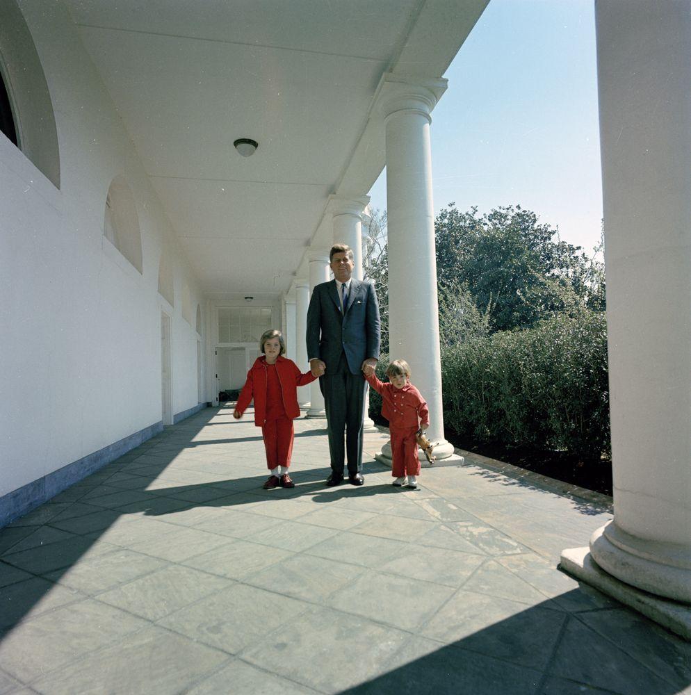 President Kennedy with John F. Kennedy, Jr. (JFK, Jr ...
