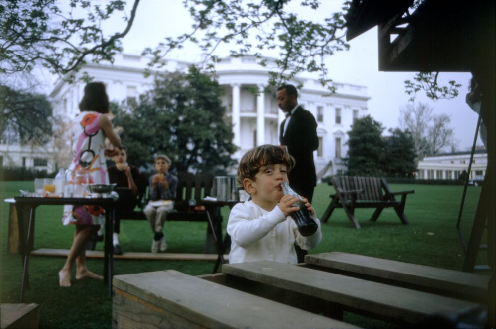 Children S Party On The South Lawn John F Kennedy