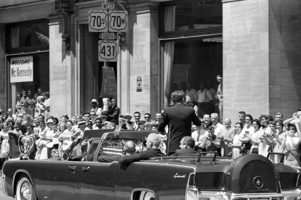 St 278 3 63 President John F Kennedy S Motorcade En