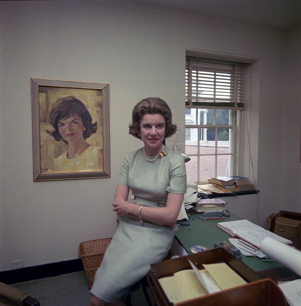 ST-C186-1-63. First Lady's Social Secretary Nancy Tuckerman - John F ...