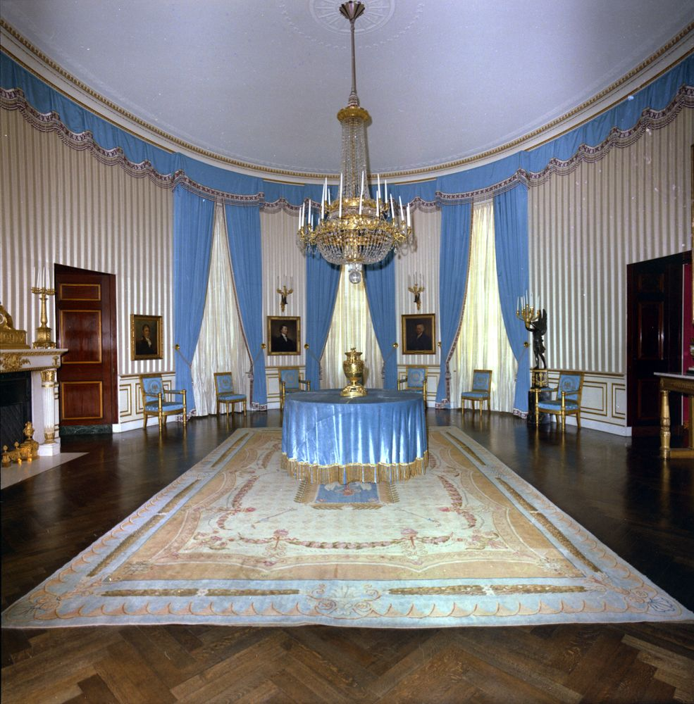 Blue Room: White House Rooms: Green, Blue Rooms
