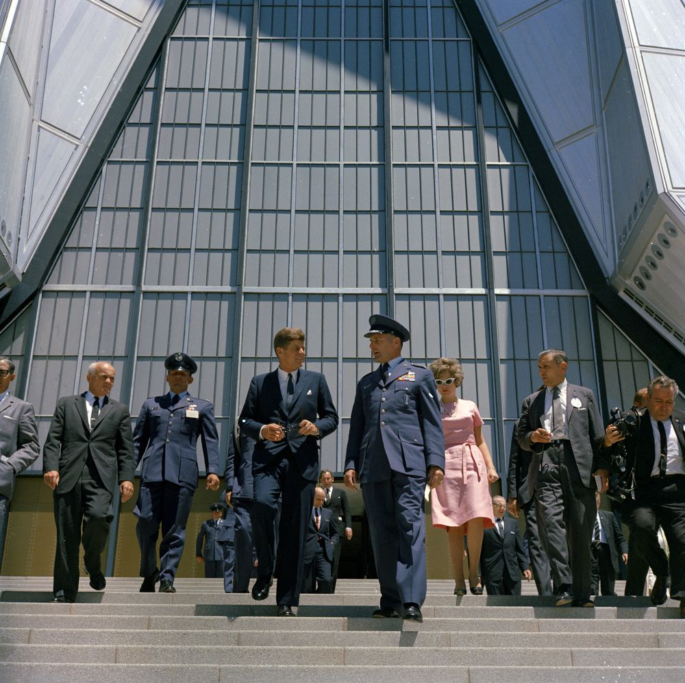 Trip To Western States: President Kennedy At U.S. Air