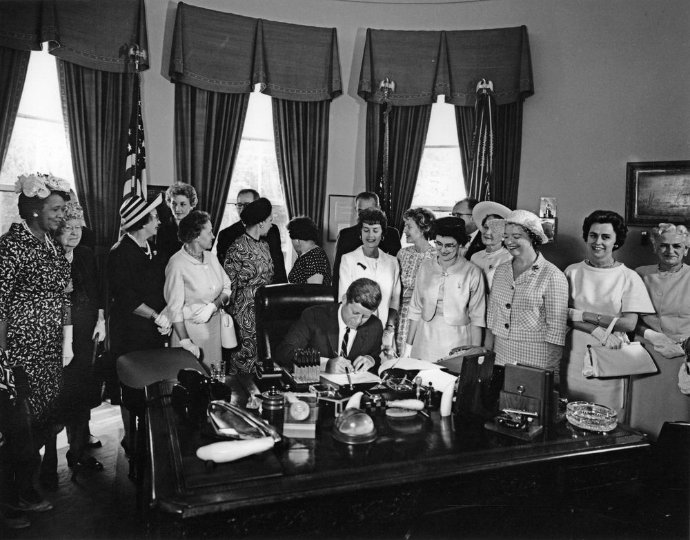 JFK Signing Equal Pay Act