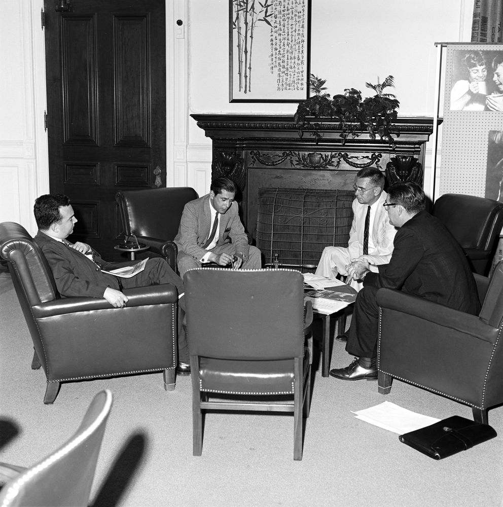 Flipboard Richard Nixon Tried To Invoke Executive: ST-328-4-63. Food For Peace Staff Meeting
