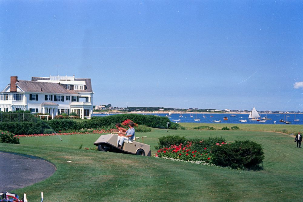 Independence Day weekend at Hyannis Port: Launching John F ...