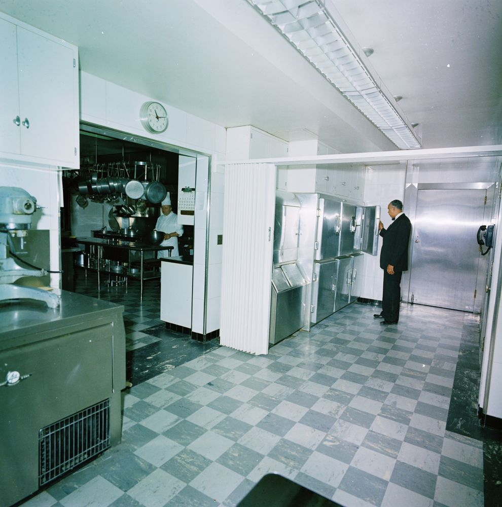 KN-C29722. Pastry Chef, Ferdinand Louvat, and Maître d\'Hotel ...
