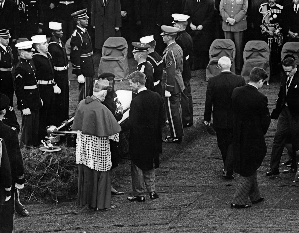 the kennedy funeral essay How jackie kennedy orchestrated the perfect funeral  the stands that day with  its featured photo essay, the president and his son, shows.