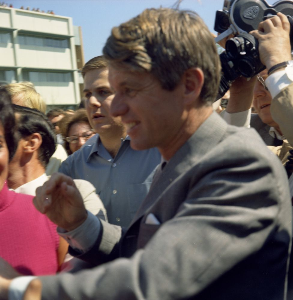 Image result for rfk in california in color
