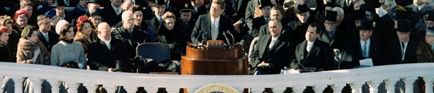 JFK Inaugural Address - Banner