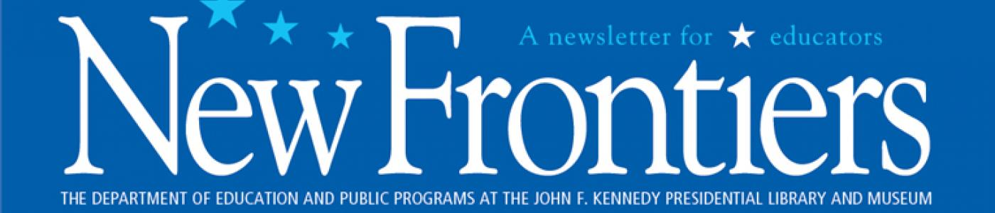 New Frontiers newsletter banner