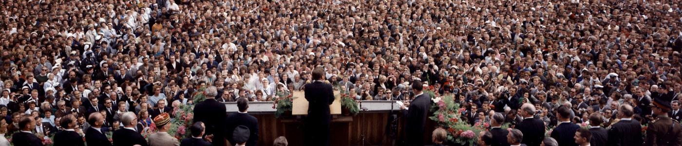 JFK speaks in West Berlin
