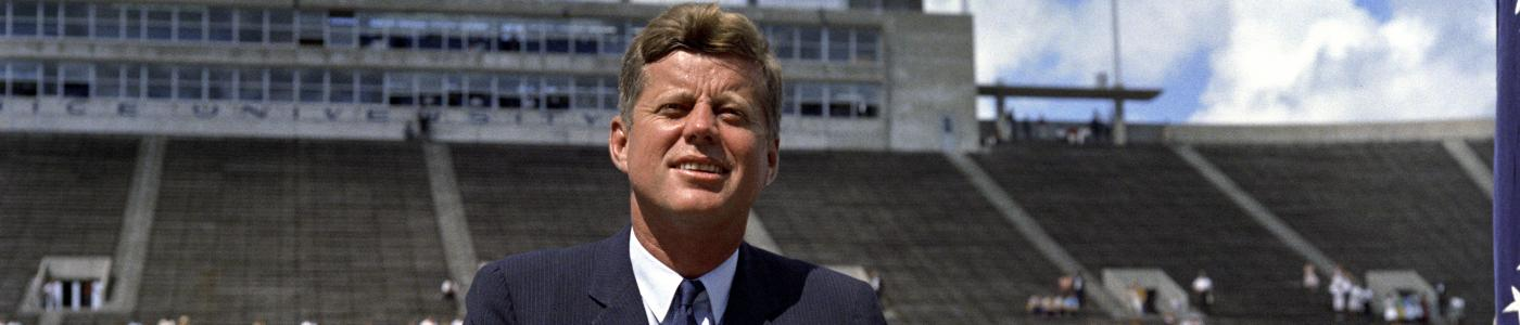 President Kennedy at Rice University