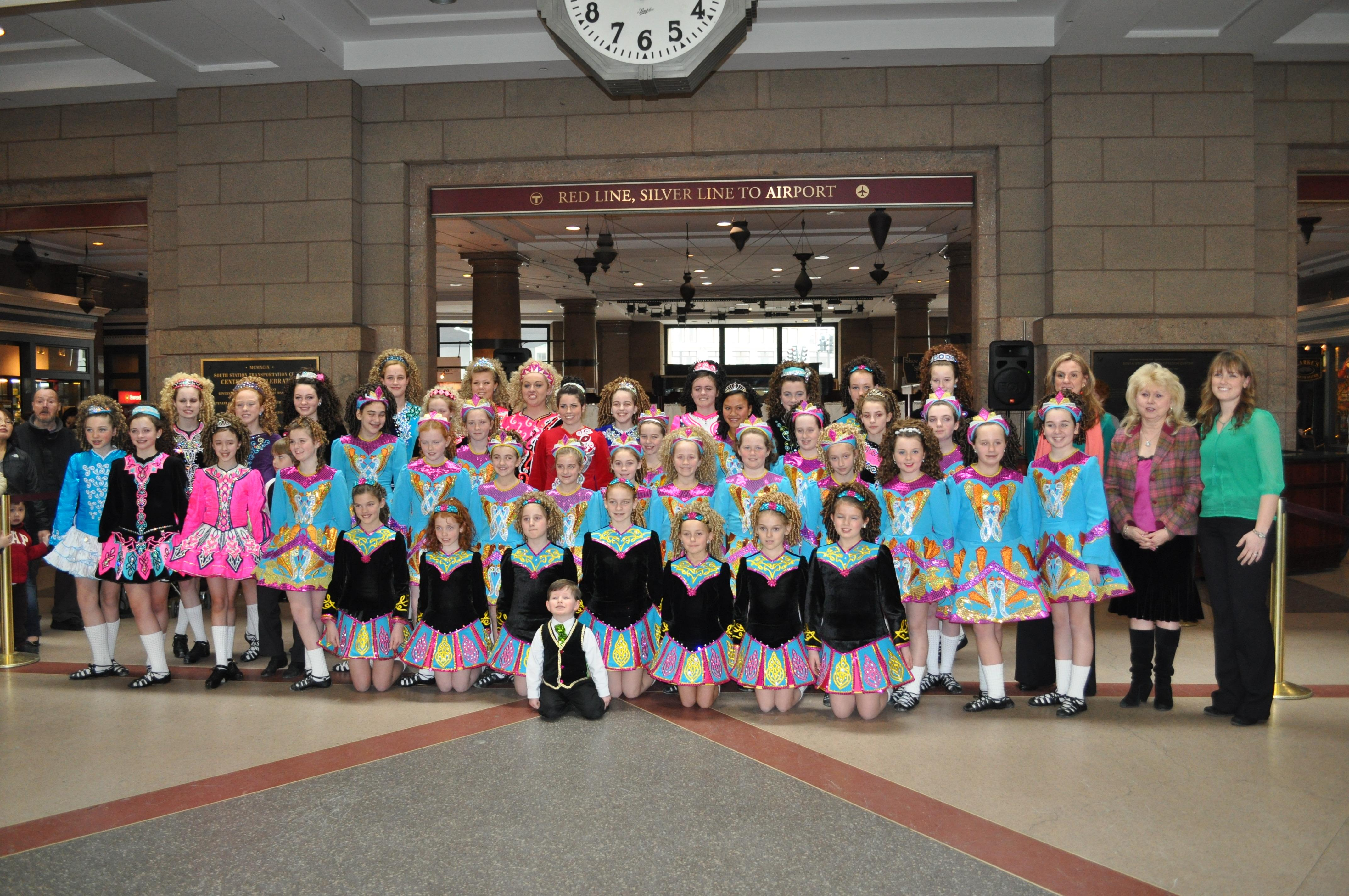 The Greene-O'Leary School of Irish Dancers