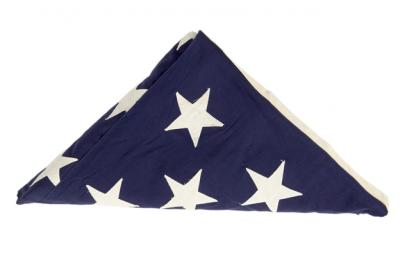 United States Flag that covered President Kennedy's Casket