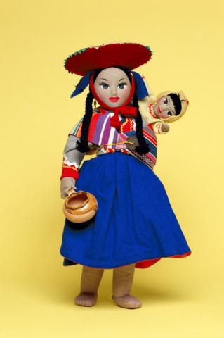 Peruvian Mother and Child Dolls