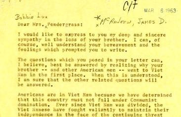 Military Advisors in Vietnam: 1963 | JFK Library