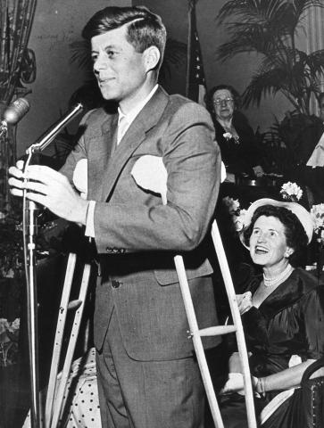 Campaigning for the Senate | JFK Library