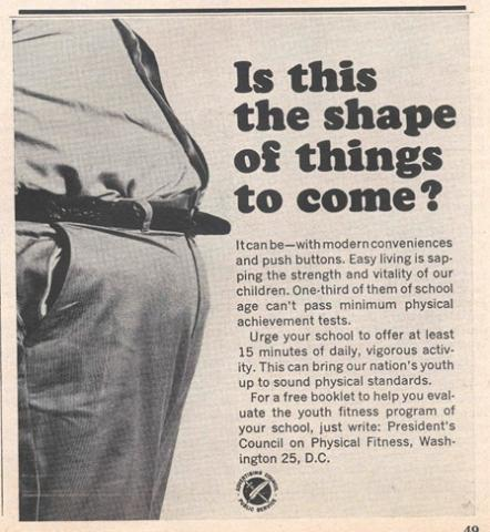 Is this the shape of things to come Advertisement