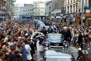 President John F. Kennedy's Motorcade through Cork, Ireland