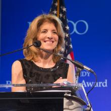 Ambassador Caroline Kennedy at the 2017 Profile in Courage Award Ceremony